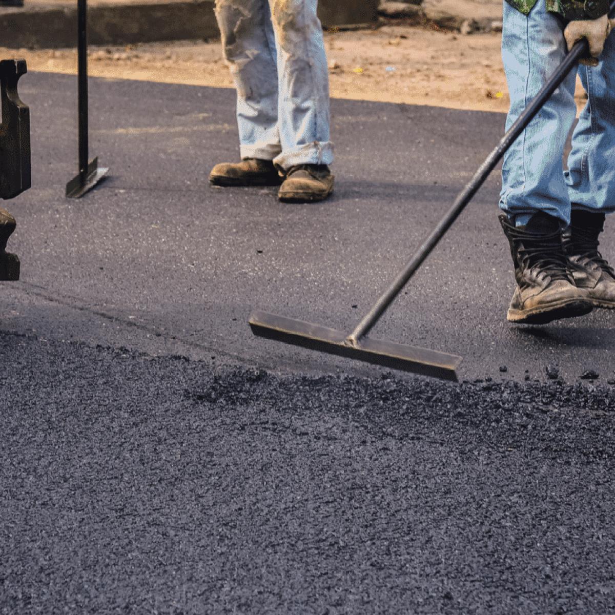 Asphalt Paving Project in houston tex