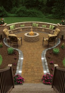 big ideas for small patio pavers