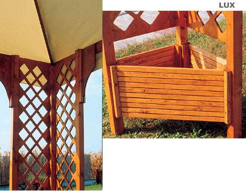 gazebo in legno  PAVE snc