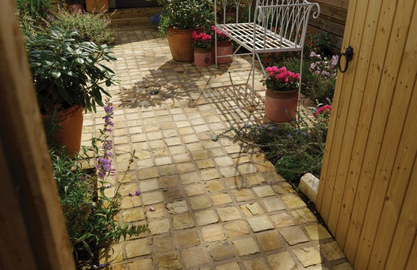 Garden Landscaping  Pavestone  Natural Paving Stone for gardens and driveways