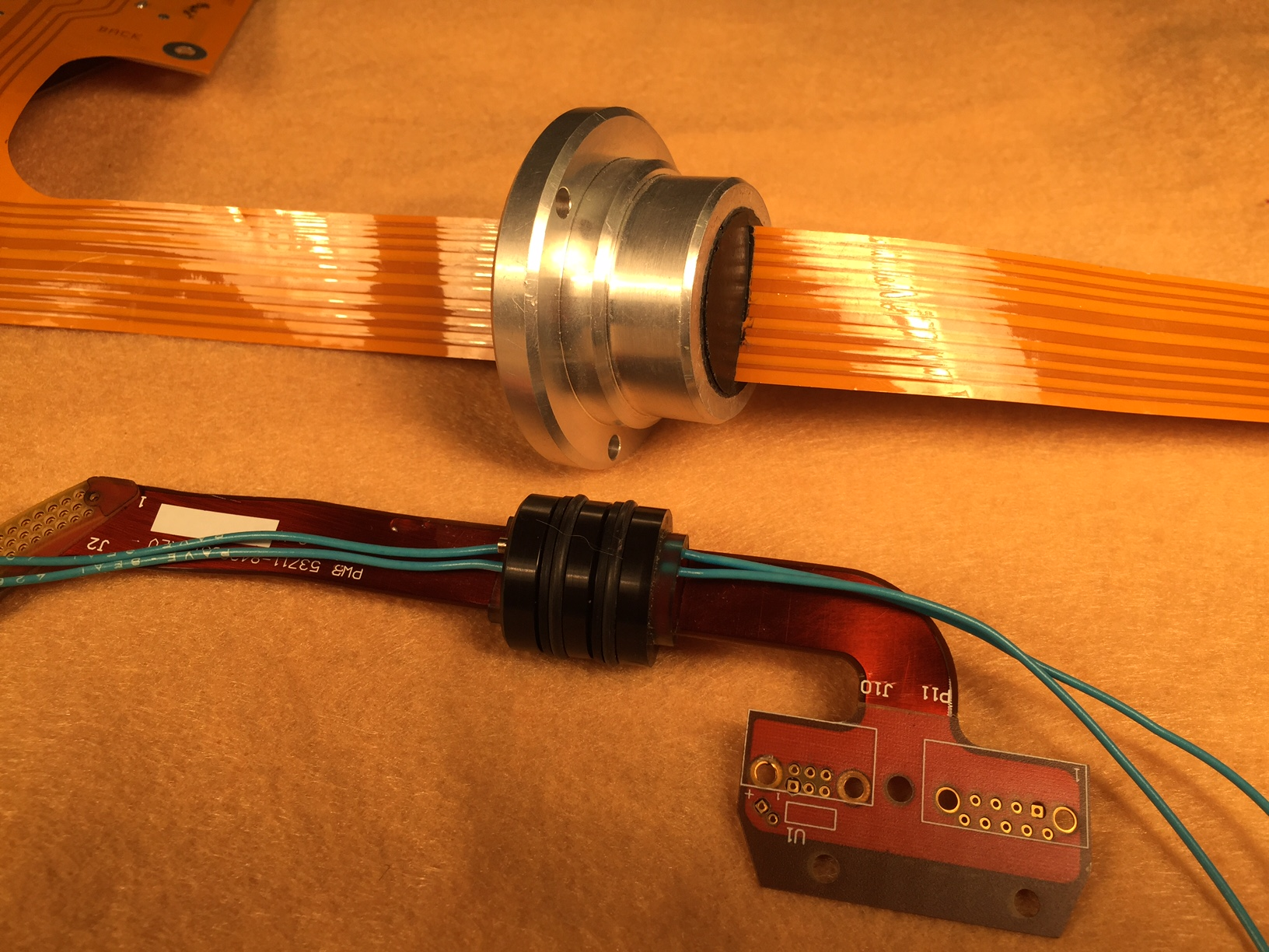 hight resolution of metal pin wiring harnes end