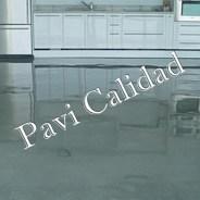 Patios decorativos con pavimento de hormigón pulido