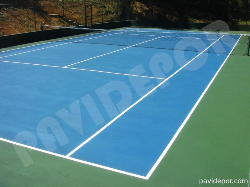 Construcción de pista de tenis en Sotogrande 01