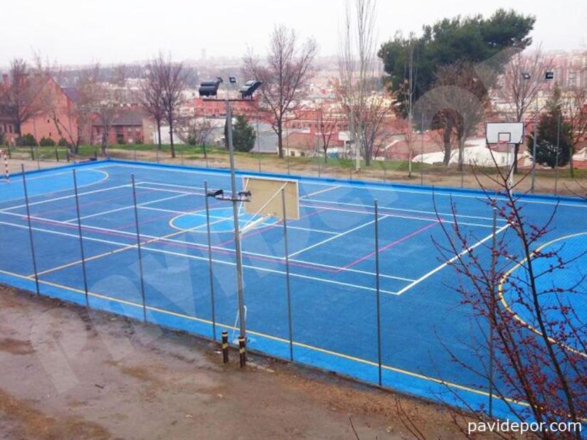 Pista Deportiva Colegio Arzobispal de Madrid, vista