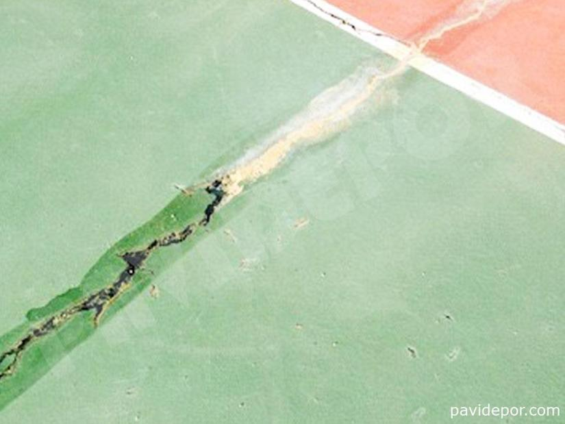Rehabilitacion pista de baloncesto, Madrid 01