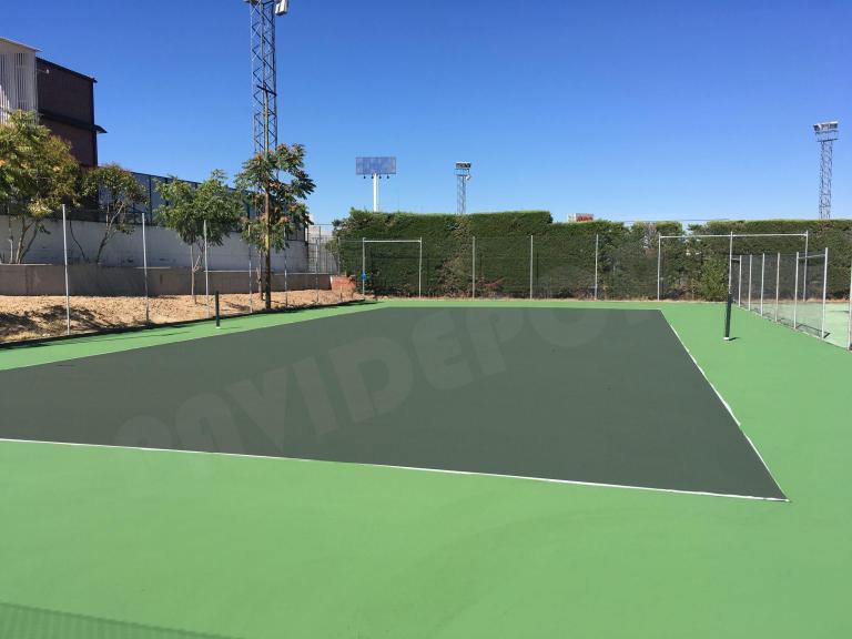 Pavimento deportivo tenis