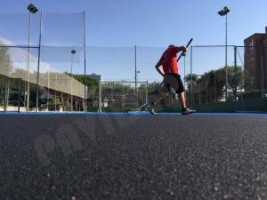 Pavimento deportivo tenis cushion