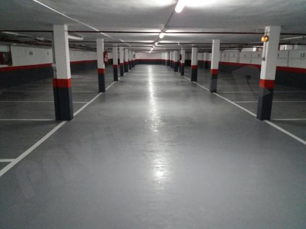 Pavimento garaje