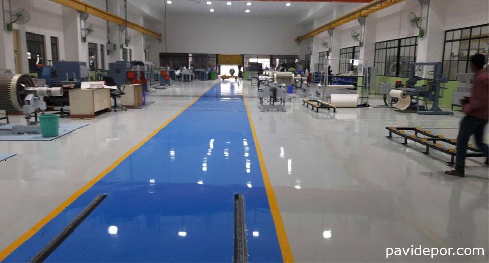 Pavimentos de hormigón pulido y resinas epoxi para la industria