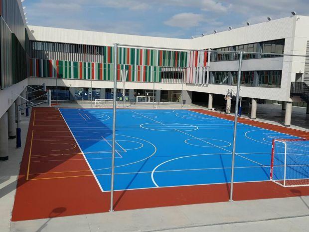 Pavimento deportivo para pistas polideportivas