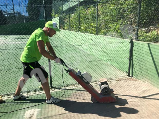 Fresado tenis