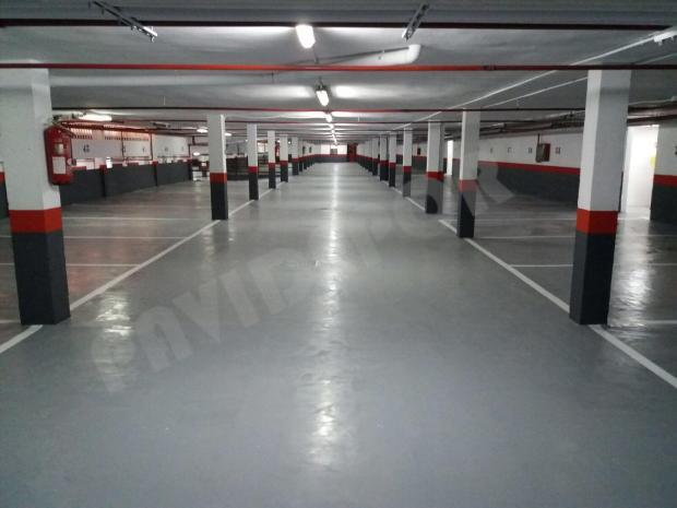 reparación suelo de garaje