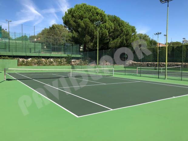 Renovación pistas de tenis
