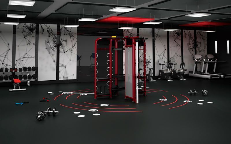 Concept and design pavigym gym flooring solutions for Gym layout design software free