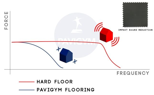 Acoustic by Pavigym impact data tests