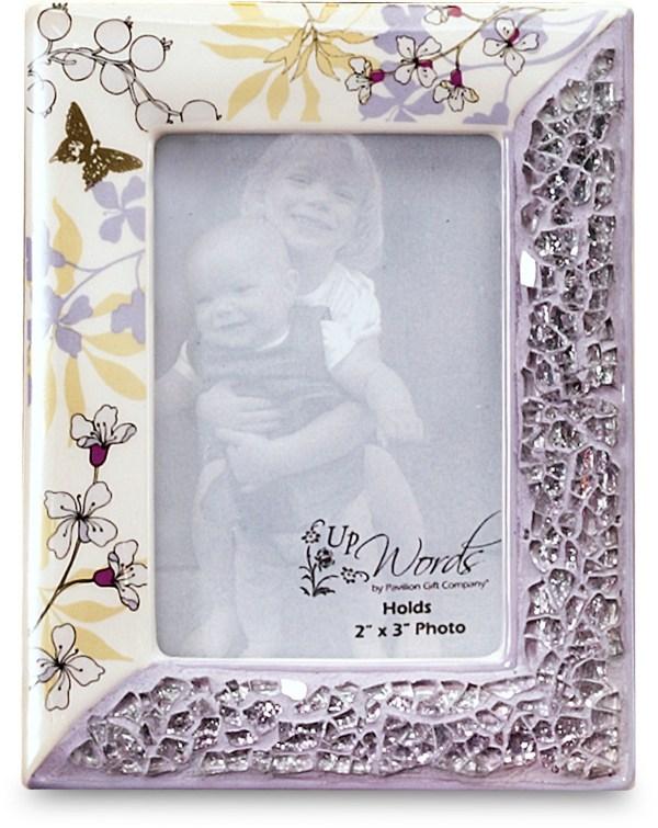 Purple Mosaic Picture Frames