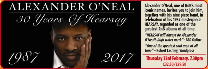 Alexander O'Neal - CLICK FOR MORE INFO!