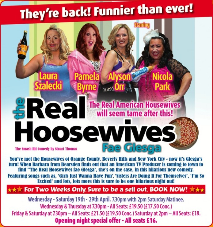 The Real Hoosewives – Fae Glesga! - CLICK FOR MORE INFO!