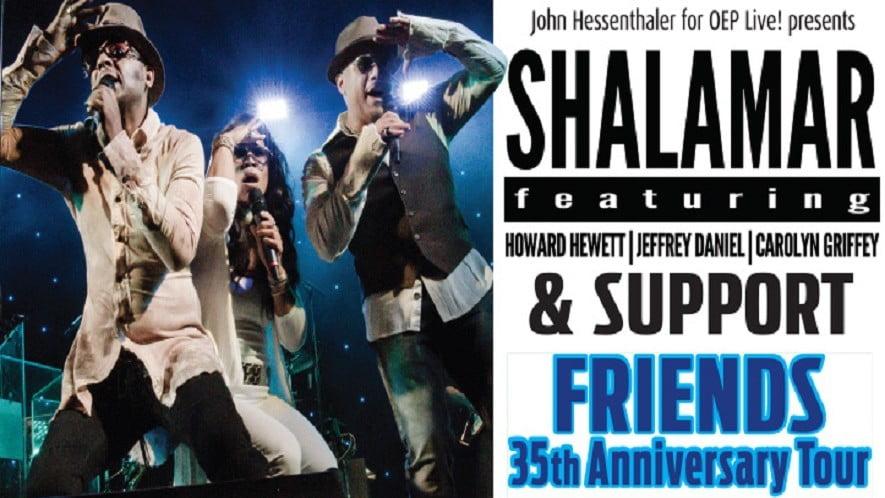 Shalamar & Support