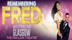 Remembering Fred at the Pavilion Theatre, Glasgow