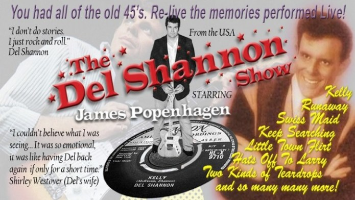 The Del Shannon Show - CLICK FOR MORE INFO!