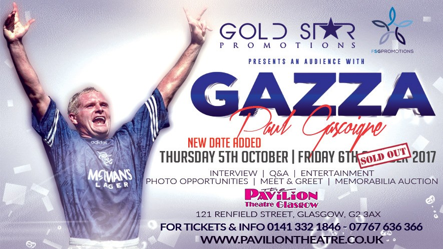 An Audience With Paul 'Gazza' Gascoigne