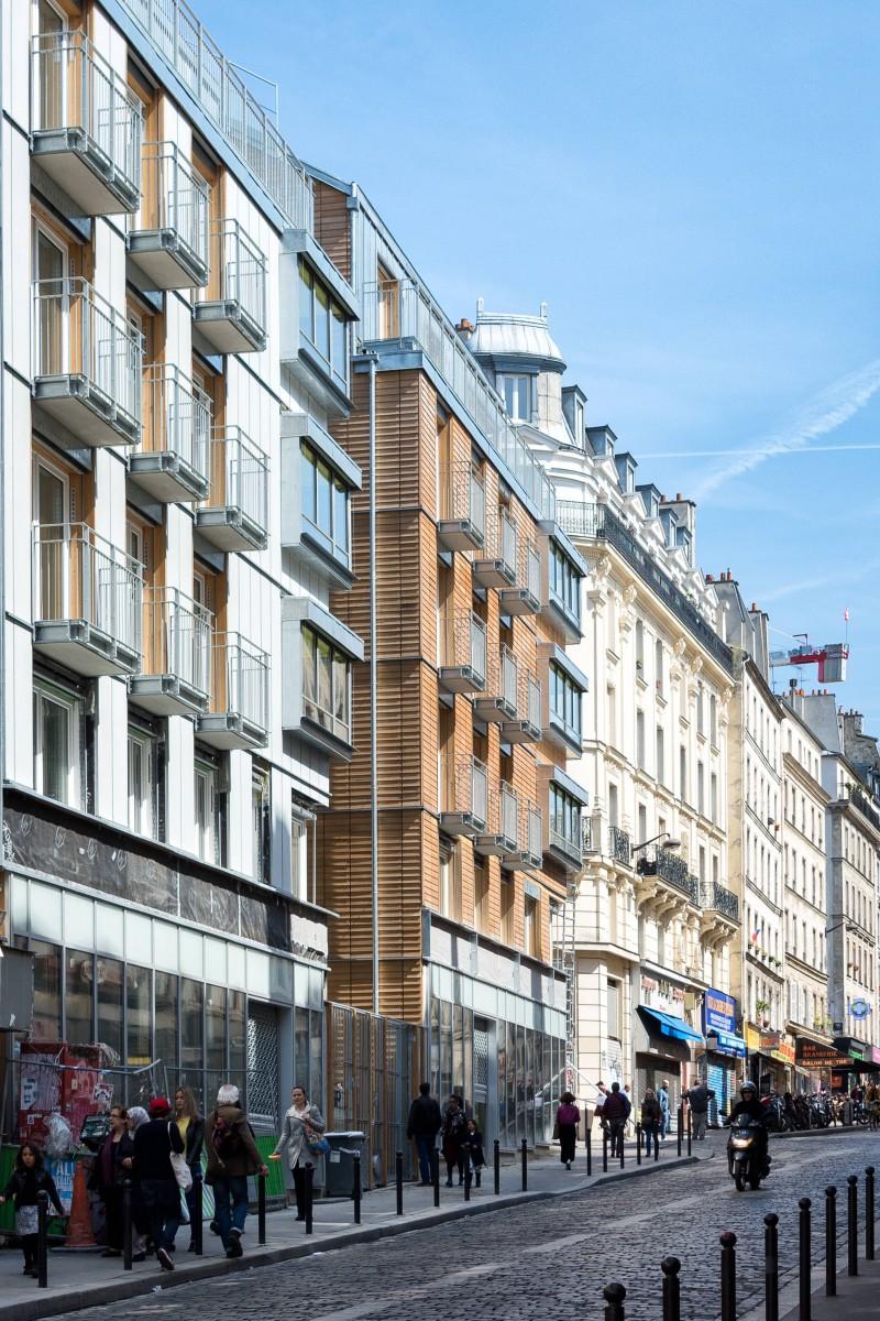91 Logements Sociaux Et Une Crche De 66 Berceaux Paris