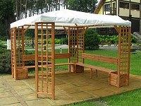 Garten Holzpavillon Mindelheim