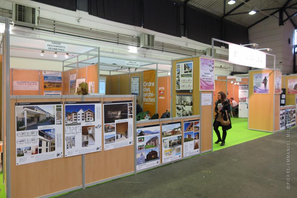 Le Pavillon au Salon de lHabitat de Pau  Le Pavillon de lArchitecture