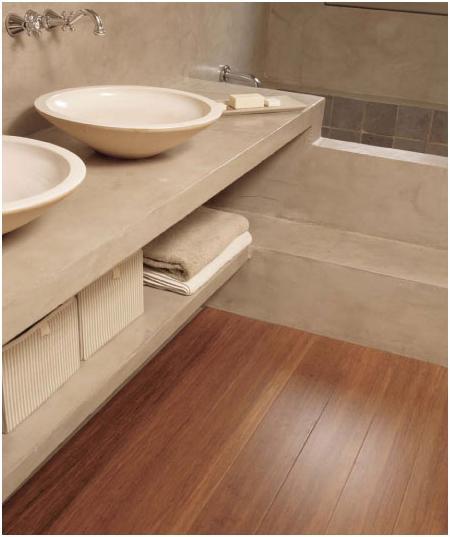 Parquet in Bagno pavimenti per bagno in legno