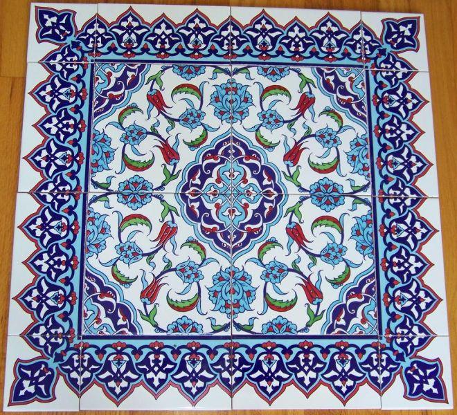 Il mondo delle piastrelle decorate le tecniche impiegate e i motivi artistici pi ricorrenti