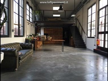 Pavimenti in Cemento posa e manutenzione a Milano e in