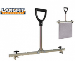 You could carry heavy slabs with a paving slab lifter