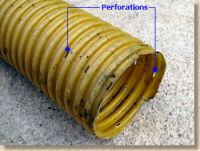 4 inch sewer type pipe and