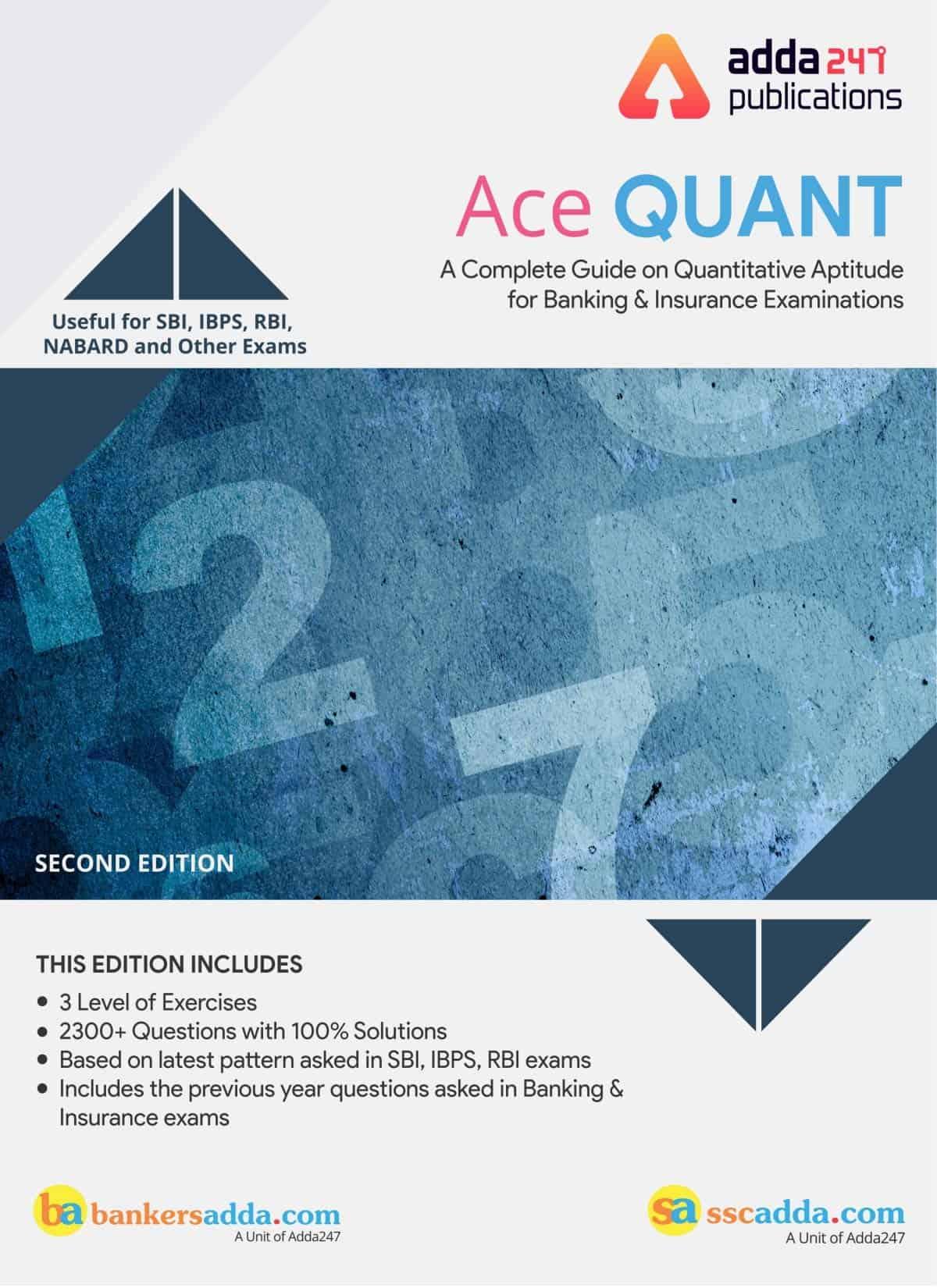 Adda247 Ace Quant Paid Aptitude Book Download PDF for All ...