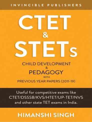 CTET & STETs Child Development and Pedagogy PDF