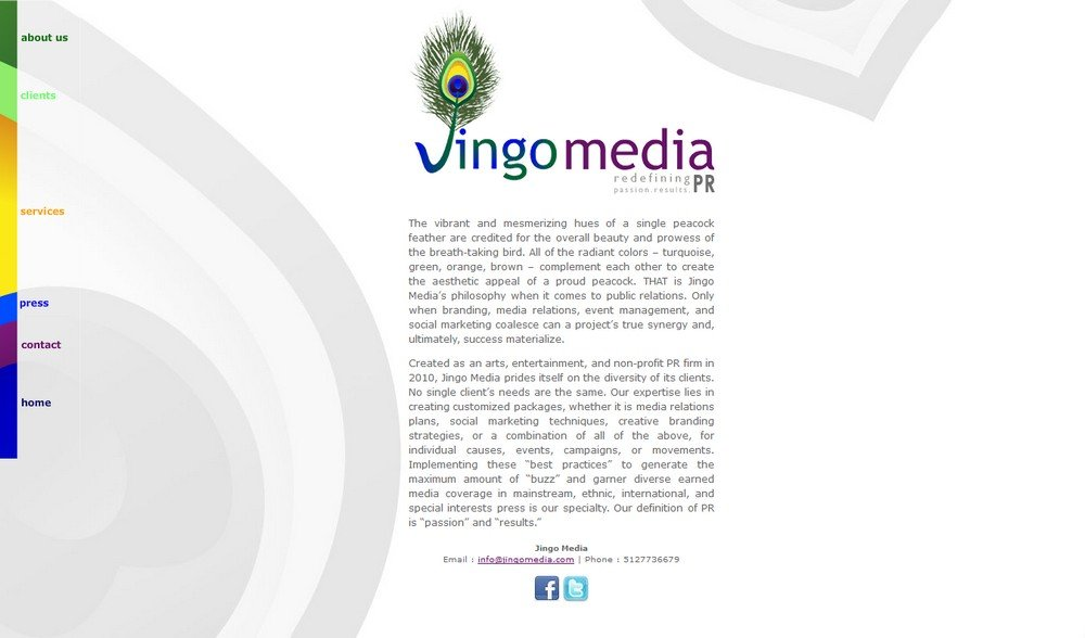 Jingo Media - Successfully Delivered Projects On-Time and On-Budget. Improved Website Conversation Rate By 80% Against Existing Control.