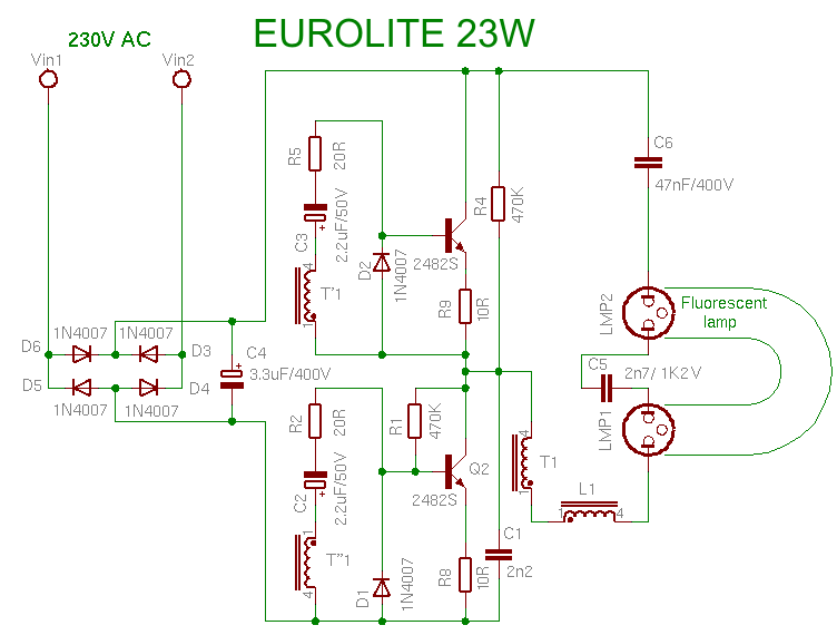 110v Light Switch Wiring Diagrams Compact Fluorescent Lamp