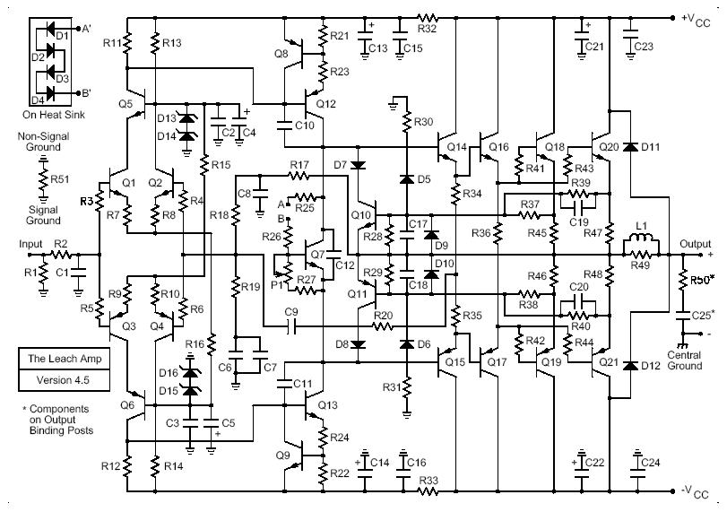 amplifier schematic diagram pdf