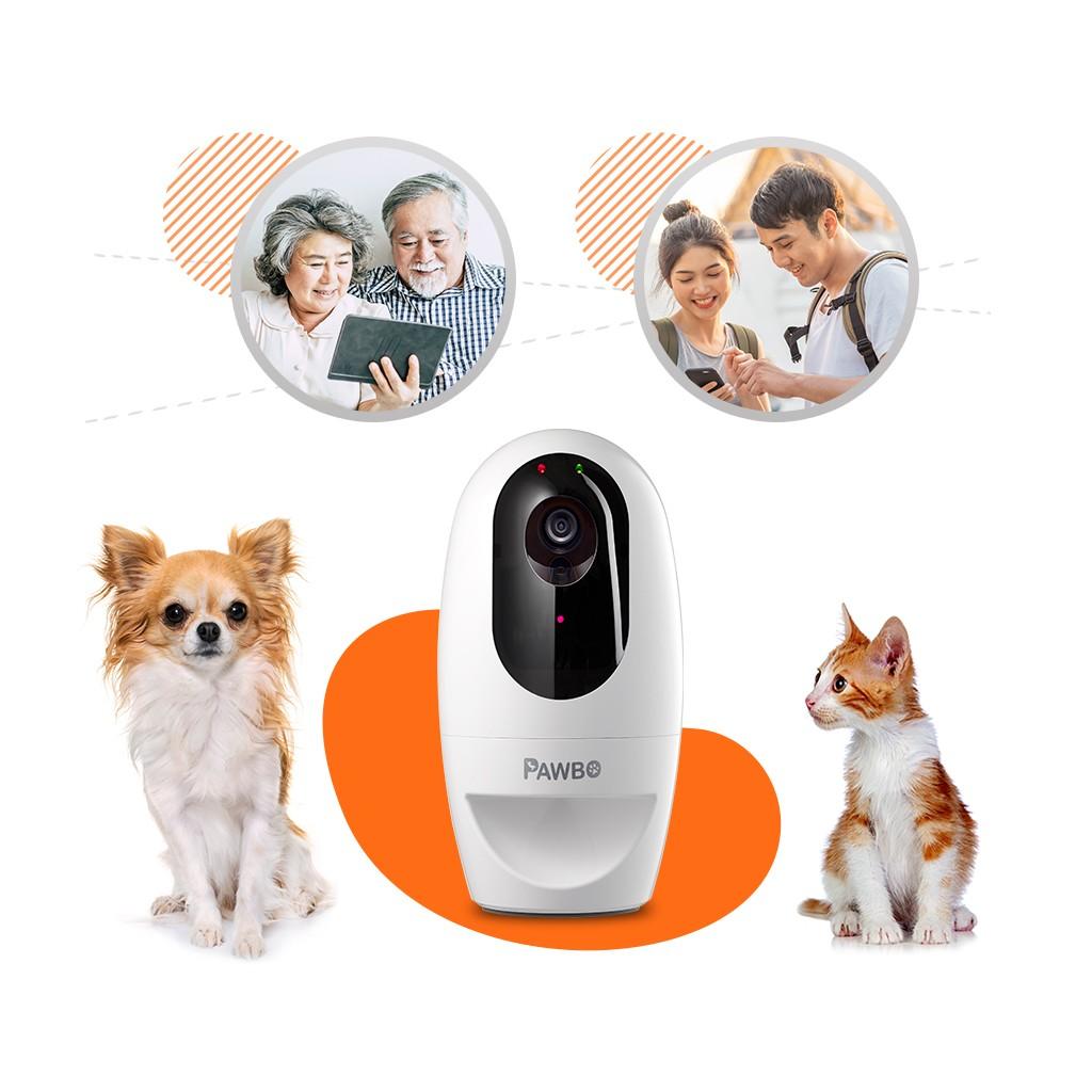 Pawbo⁺ 寵物互動攝影機