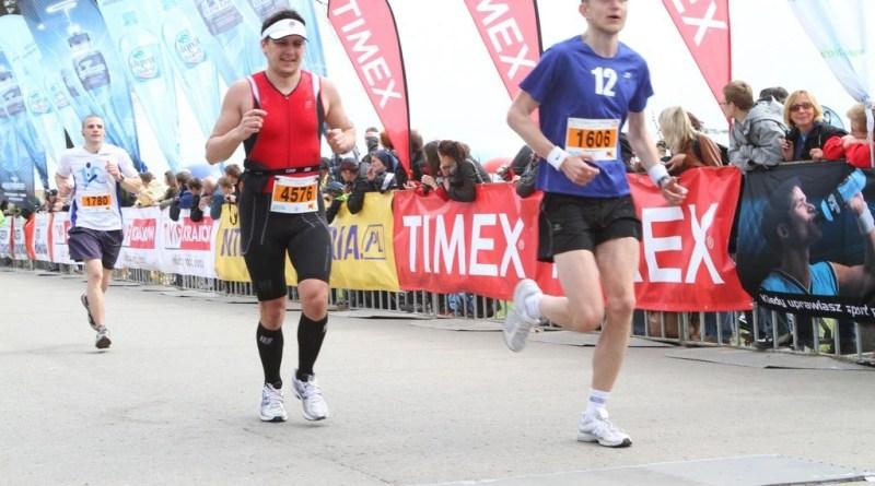 X Cracovia Maraton - finisz