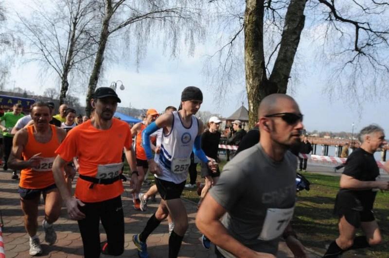 I Półmaraton Ostrodzki - start
