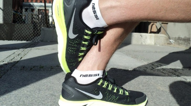 Nike LunarGlide+ 4 - bokiem
