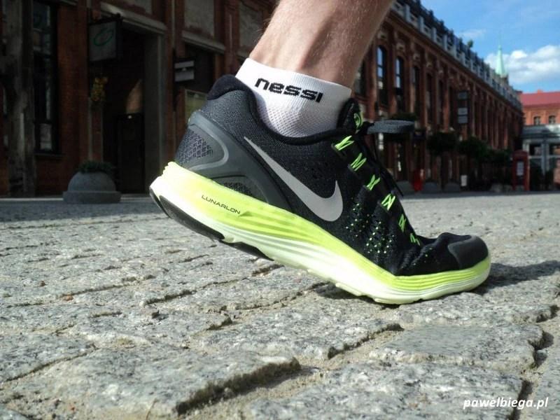 Nike LunarGlide+ 4 - wspięcie na palce