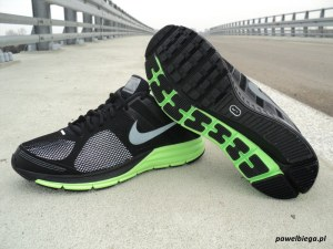 Nike Zoom Structure+ 16 Shield - bok i podeszwa