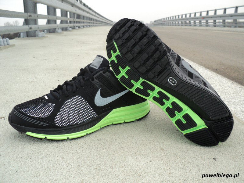 Nike Zoom Structure+ 16 Shield - bok i podeszwa