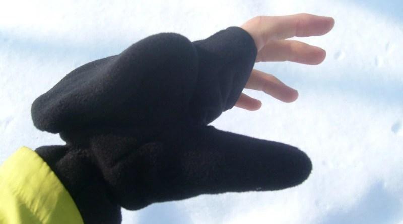 Rękawiczki termoaktywne windbloc Nessi - z odkrytymi palcami