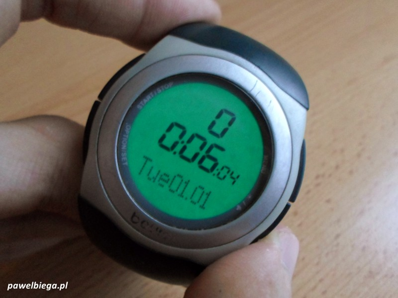 Beurer PM25 - po wymianie baterii