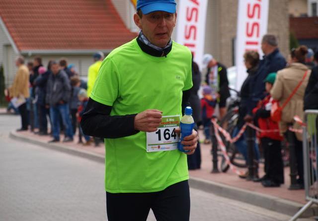 Bieg w Książenicach - finisz