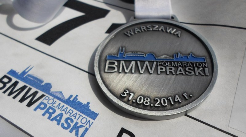 BMW Półmaraton Praski - medal